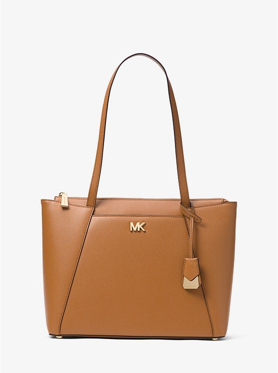 Tote Bag On Sale, Acorn, Leather, 2017, one size Michael Kors
