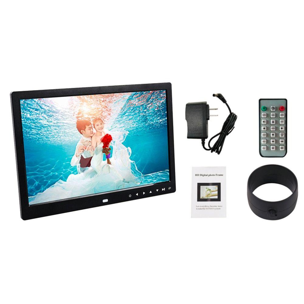 Multi functional 13 Inch 1280 800 HD LED Digital Photo Frame High ...