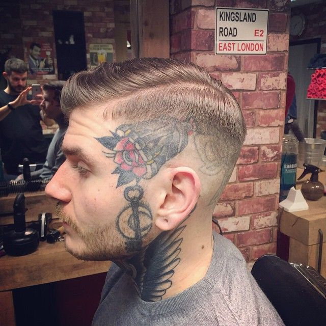 Bucksbarbers Tapered HairBarber HaircutsMen BeardFashion TattoosPompadourMens HairMoustacheBarbersRockabilly