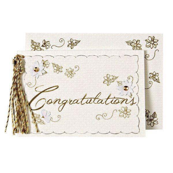 Congratulations Gift Enclosure Card
