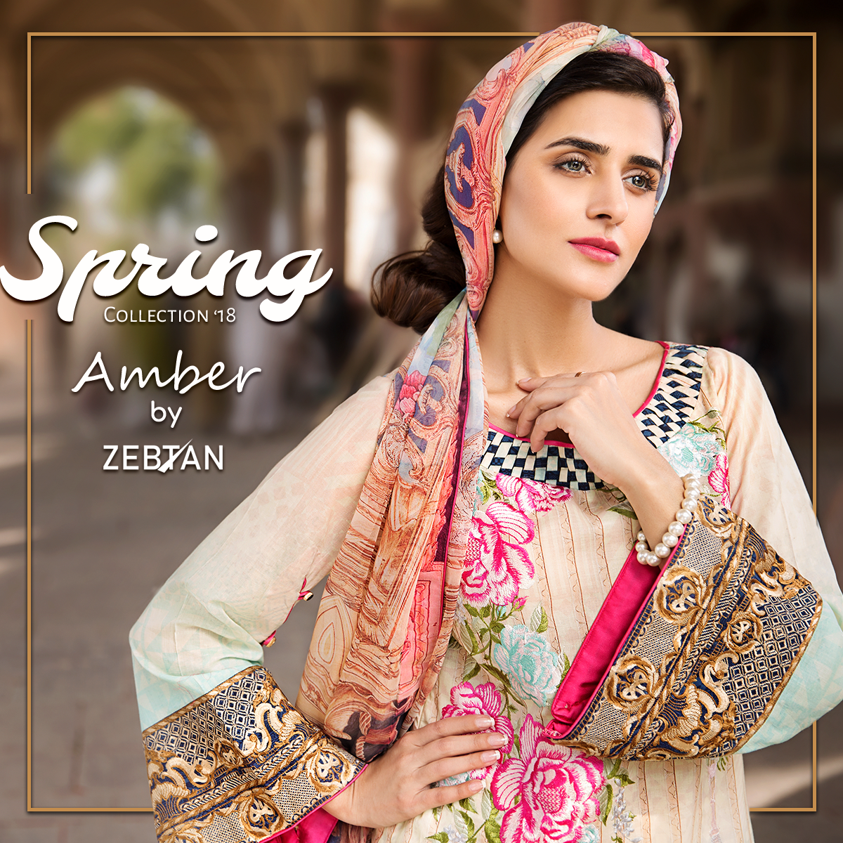 6947a84959 Spring Collection by Zebtan '18 | Spring Lawn Collection | Spring ...