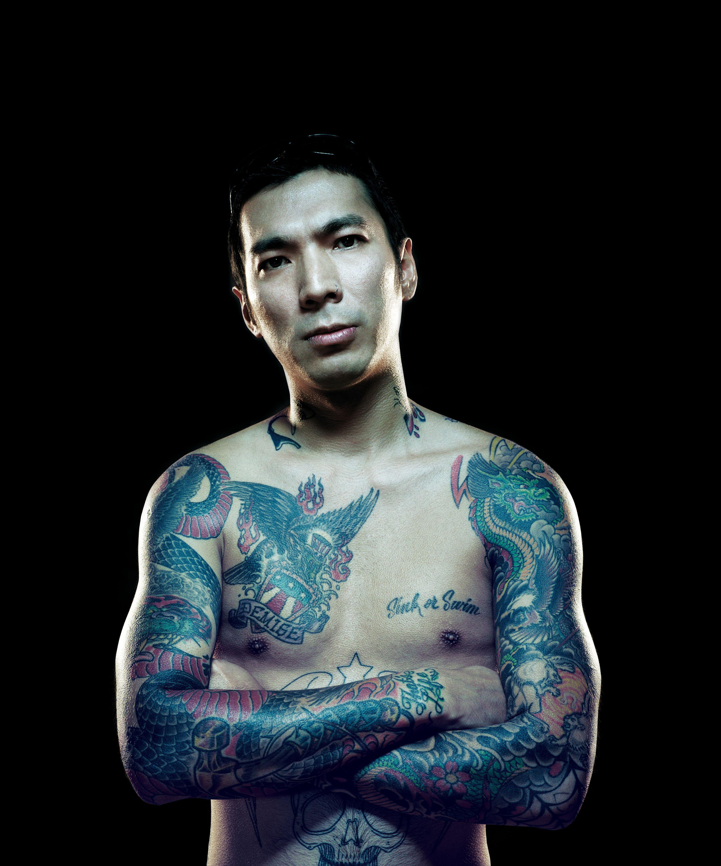 Image of tattoo artist Yoji Harada from TLC\'s \