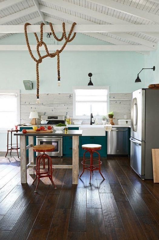 Küche #Küchen #LaminatKontor #Laminat #Parkett #Inspiration - Parkett In Der Küche