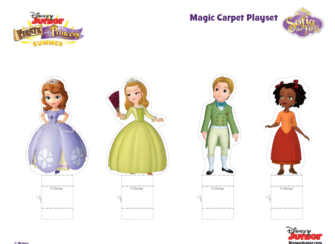 http://skgaleana.com/pirate-and-princess-summer-with-jake-and-sofia-the-first-printables/