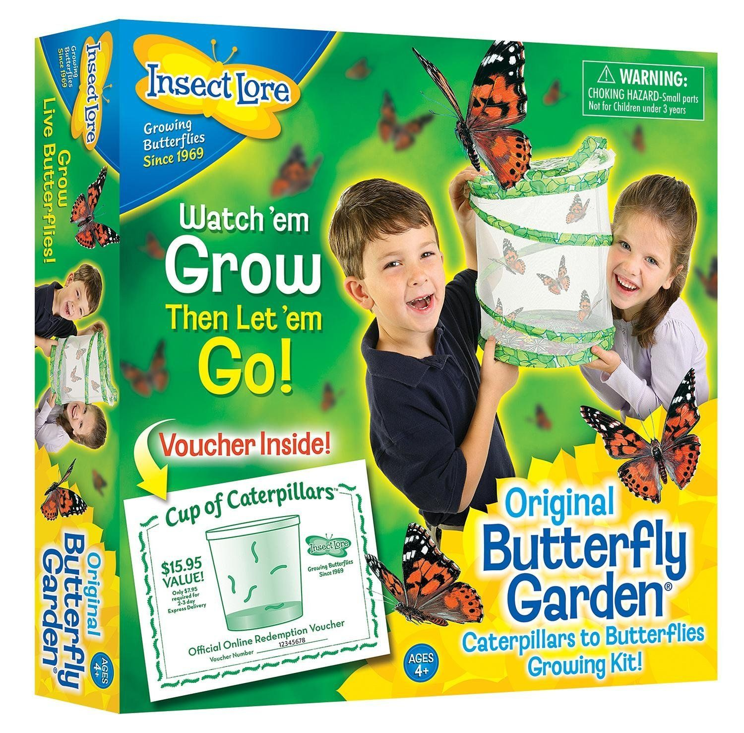 Amazon Com Insect Lore Original Butterfly Garden With Voucher