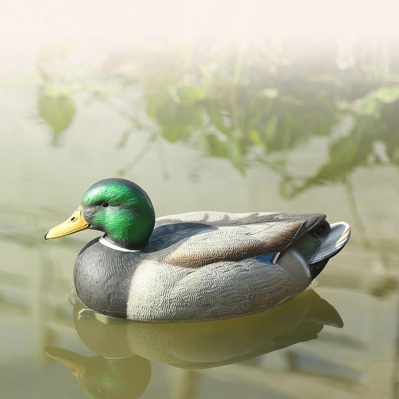 Floating Mallard Duck Deadly Fishing Lure Hen For Outdoor Hunting Decoy Garden