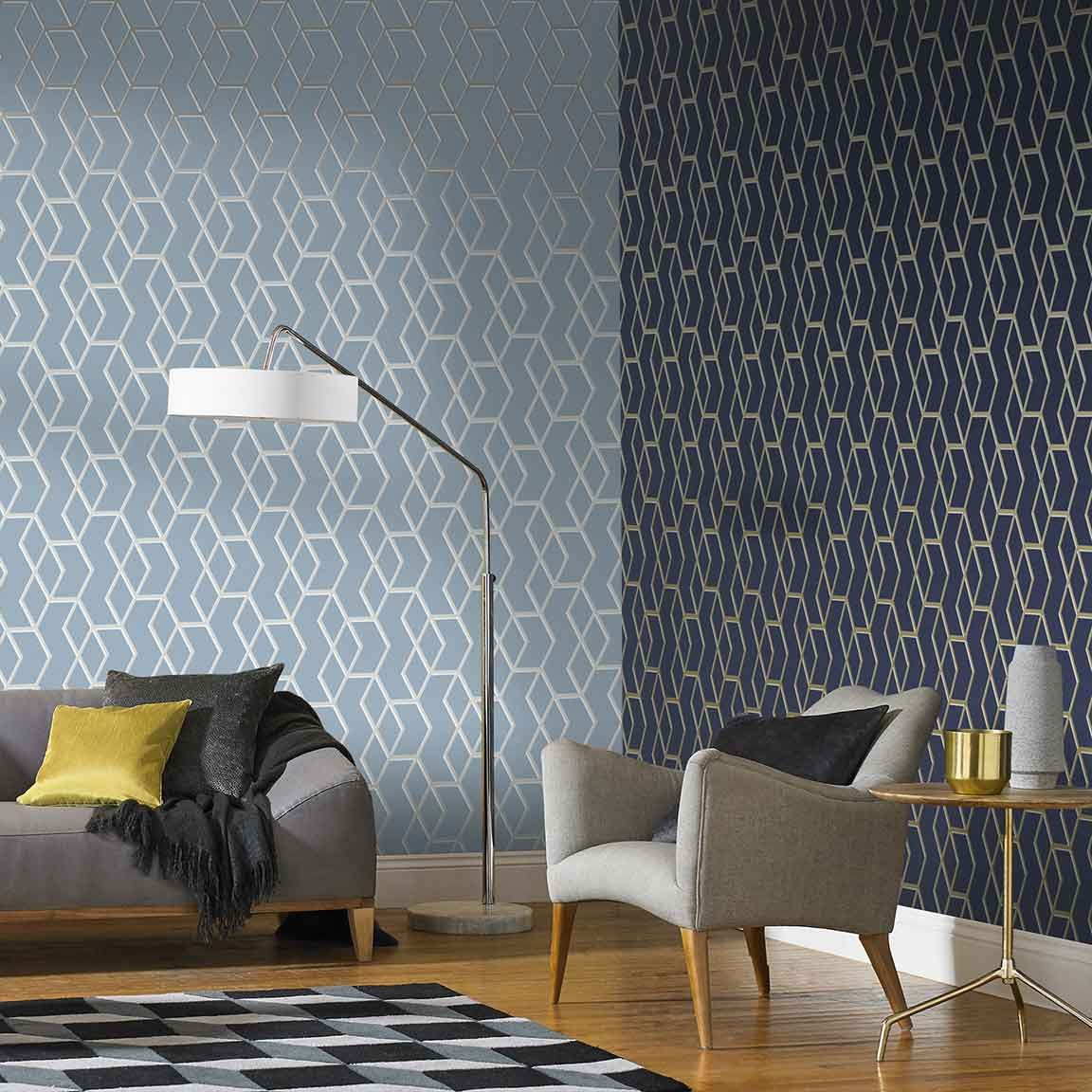 49 Modern Wallpaper Decoration for Living Room Ideas ...