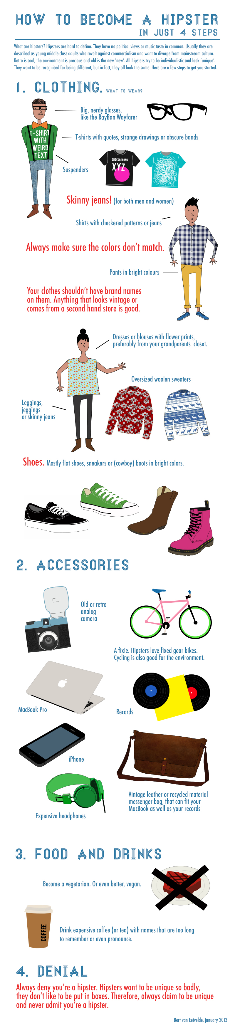 How to become a hipster 92