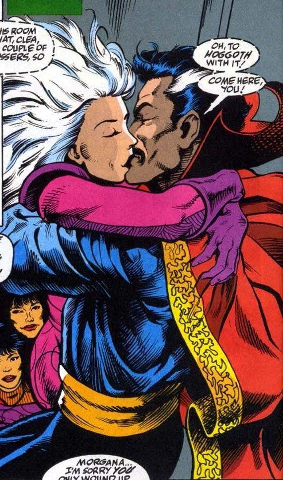 Clea & Dr. Strange | Doctor strange comic, Doctor strange, Doctor ...