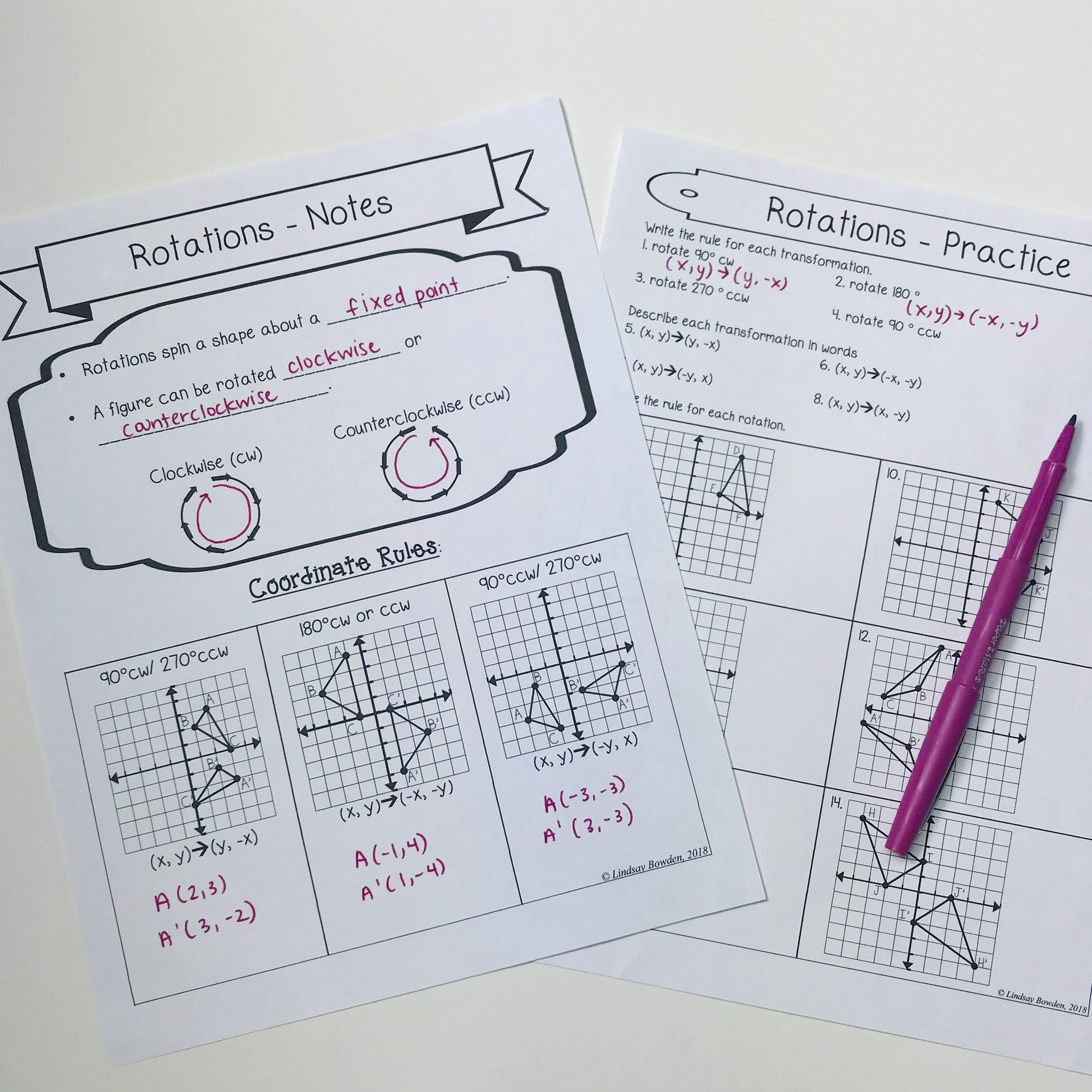 5 Free Geometry Lessons In