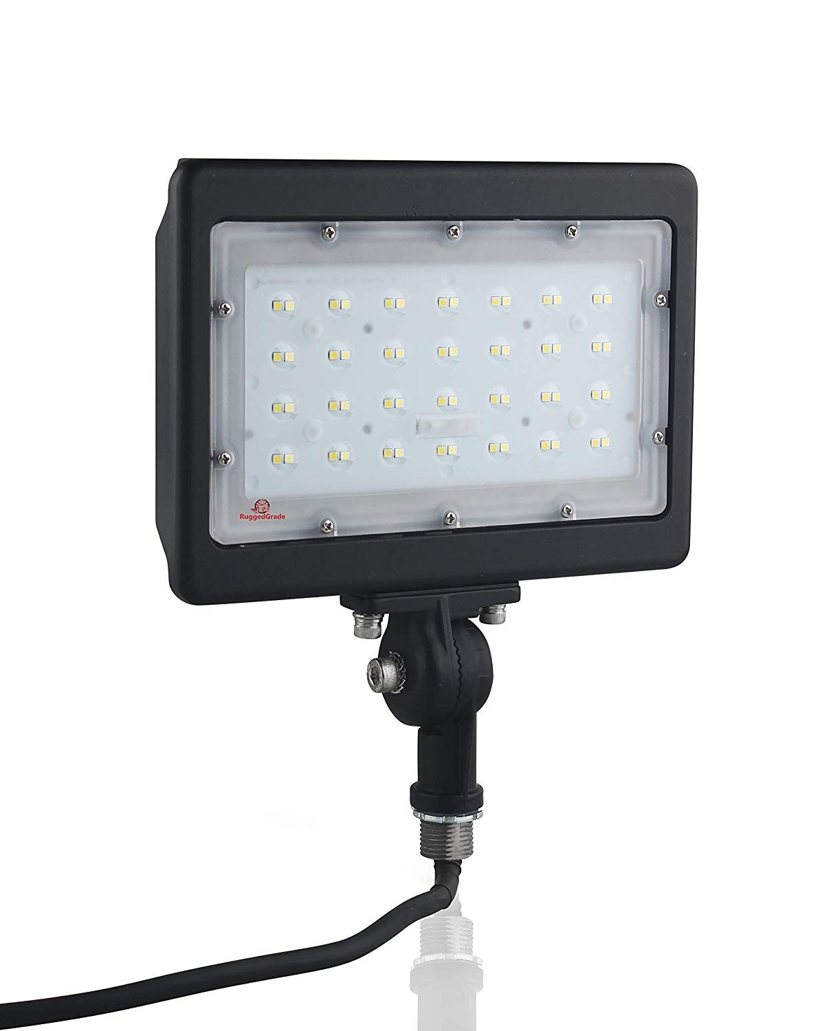 50 Watt Led Flood Light Kivo Series Led Flood Lights 6 000 Lumens 50 Watt Led Flood Light 5000k Knuckle Mou With Images Led Flood Lights Flood Lights Led Flood
