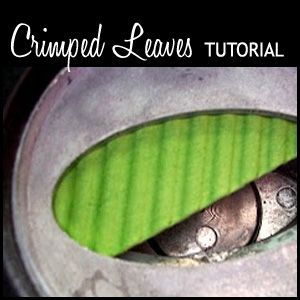 Today we have a fun tutorial in store for you on making crimped leaves. The tutorial and photos were prepared by Carol. Thank you, Carol, for sharing this fun tutorial with all of us! To see mor...
