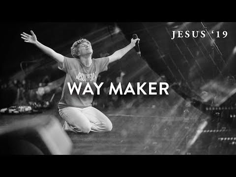 Way Maker | Steffany Gretzinger | John Wilds | Jesus Image Choir | Jesus '19 - YouTube