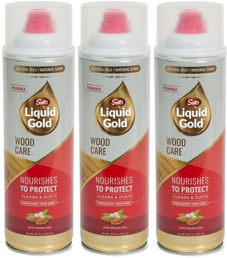 3Pack Scott's Liquid Gold 20 Oz. Pourable Wood Furniture