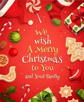All Of Us At Doorways Wish You And Your Family A Very Merry Christmas May You Have A Blesse Christmas Wishes For Family Merry Christmas Wishes Christmas Cards