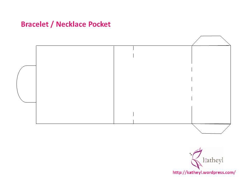 Bracelet Necklace Pocket Gift Packaging Diy Packaging Diy Diy Necklace Packaging