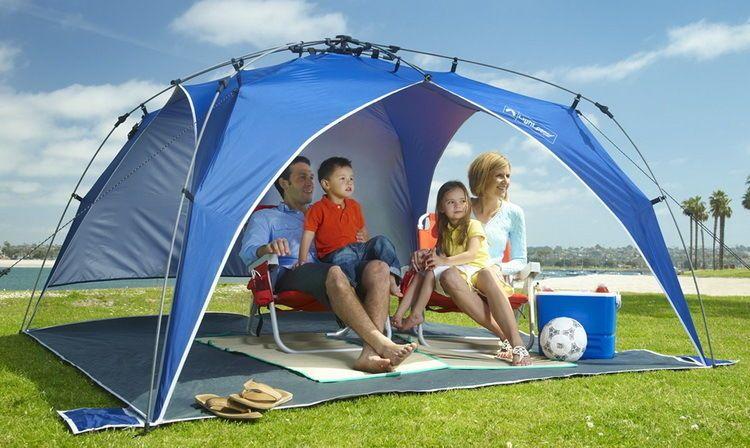 Outdoor Beach Backyard Portable Tent Shelter Pop Up Sun