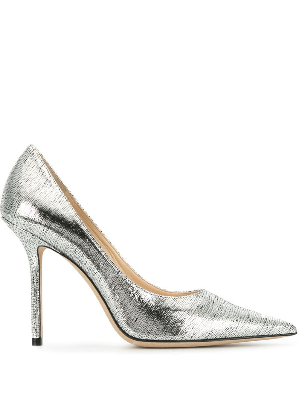 Love Pumps Choo 100 Jimmy 2019Products Silver In 0wm8NnOyv