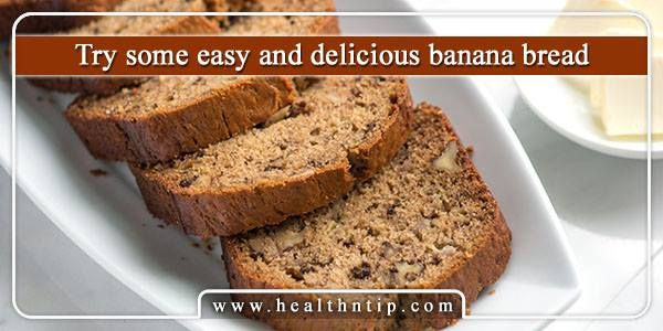 This delicious banana bread is full of sweeter and richer in taste and when you dip it in tea or coffee and eat then you feel yummiest taste ever.
