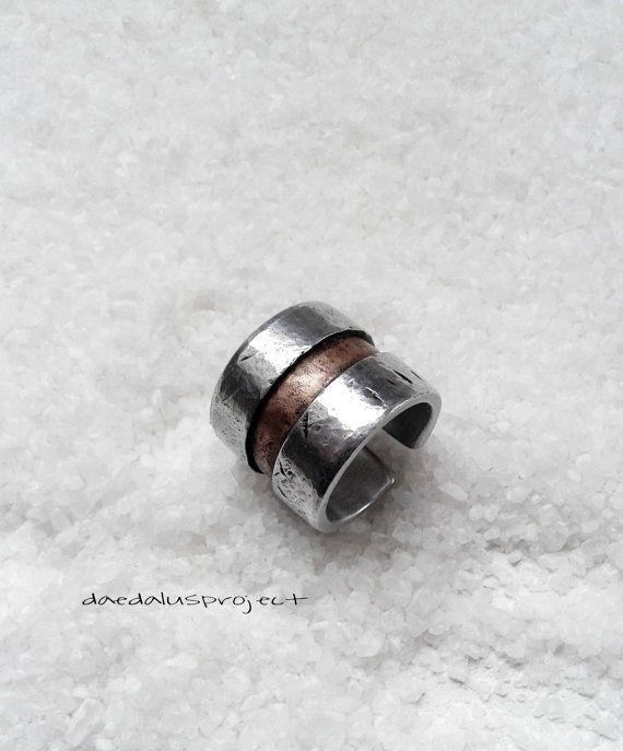 banda de anillo anillo anillo mujer de hombre por daedalusproject   Supernatural Style