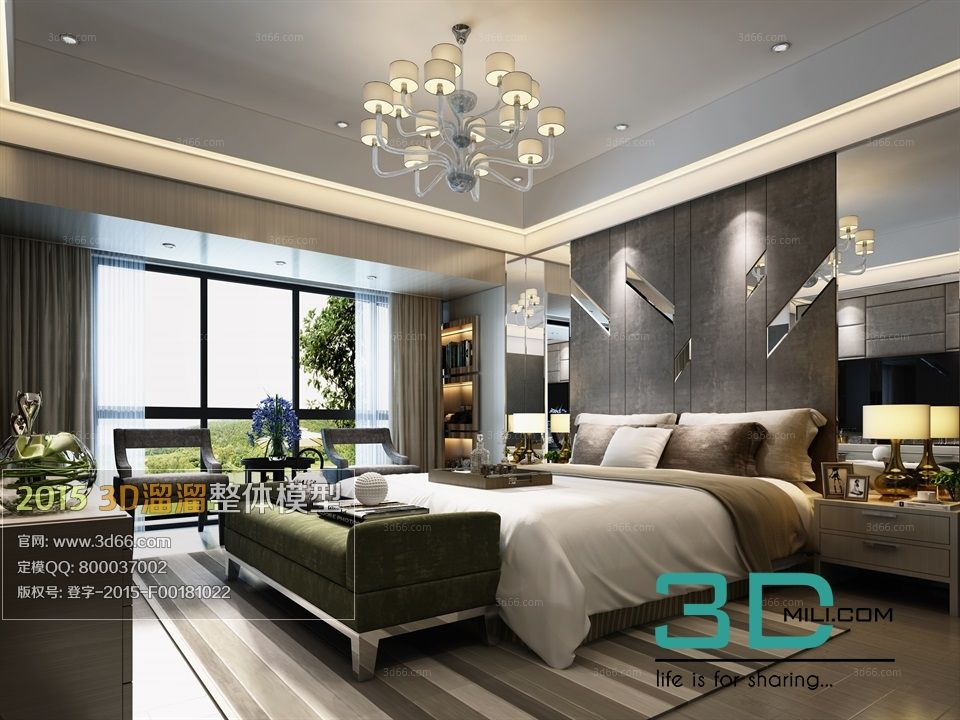 140 Bed Room 3dsmax File Free Download With Images Modern