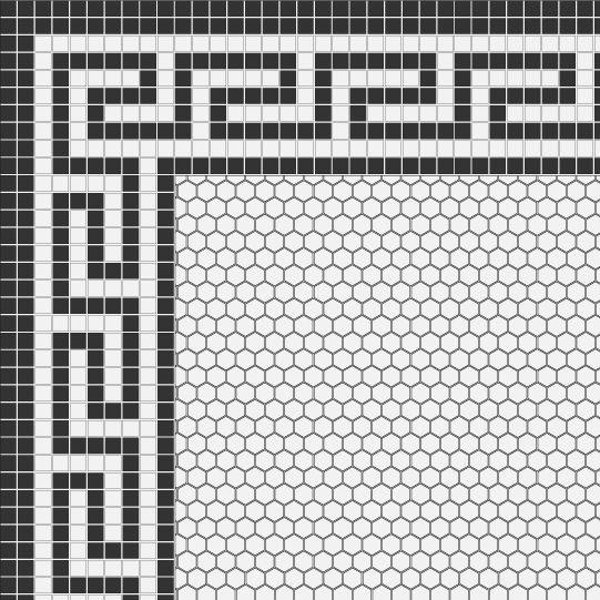 mosaic flooring classic tile floor