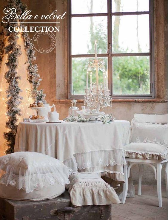 Set 3 tavolini in metallo della Collezione Portofino di Blanc ...