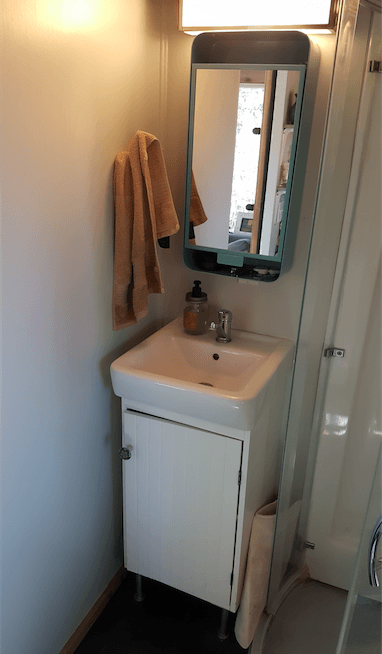 Tiny House Water Usage - Bathroom Sink