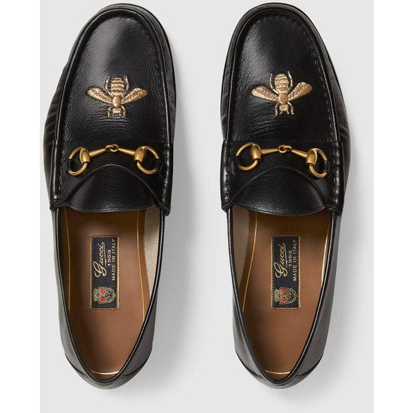 e6970b56f1e Gucci Leather loafer with bee (2