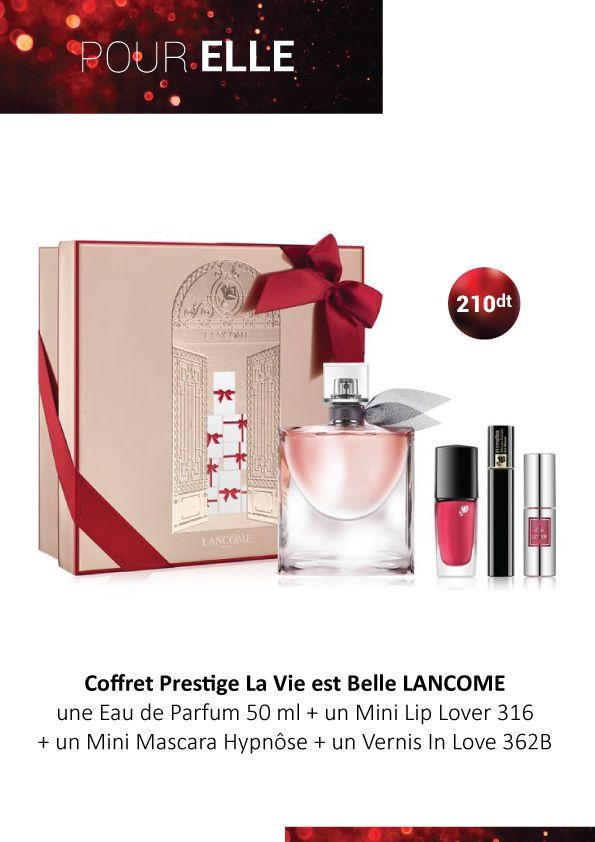 Lancome Est Cadeau Idée Vie Belle Coffret La Ce Prestige wPiZkXTluO