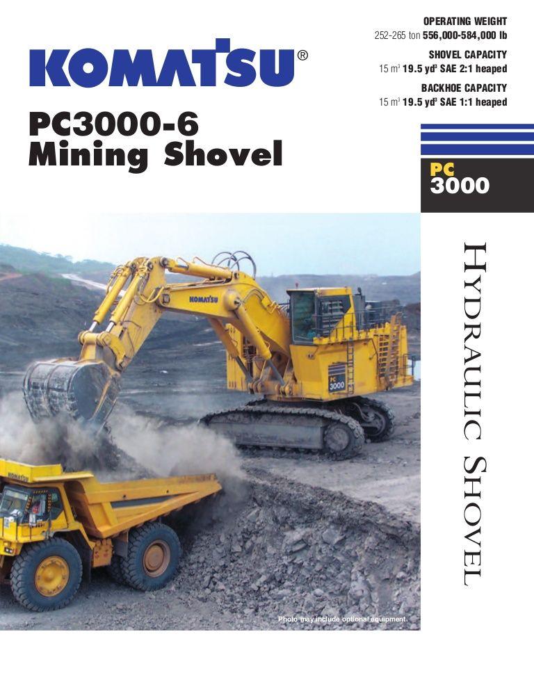 Alat Beratku Blogspot Com Komatsu Excavators Pc3000 6 Komatsu Excavator Komatsu Excavator