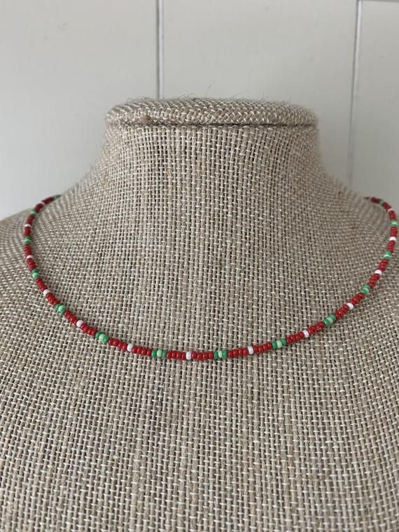 Photo of Apples to Apples Beaded Necklace   Etsy