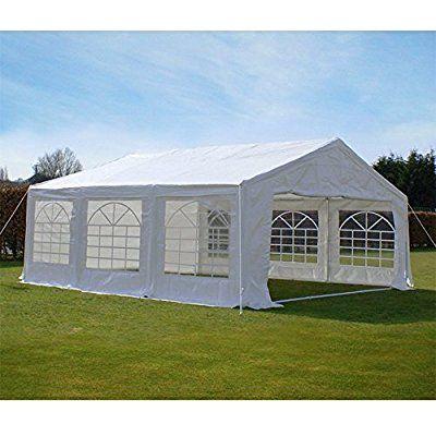 Amazon.com Peaktop 20u0027 X20u0027 Heavy Duty Carport Party Wedding Tent Car Shelter Canopy Gazebo Pavilion Garage with Sidewalls Garden u0026 Outdoor & Amazon.com: Peaktop 20u0027 X20u0027 Heavy Duty Carport Party Wedding Tent ...