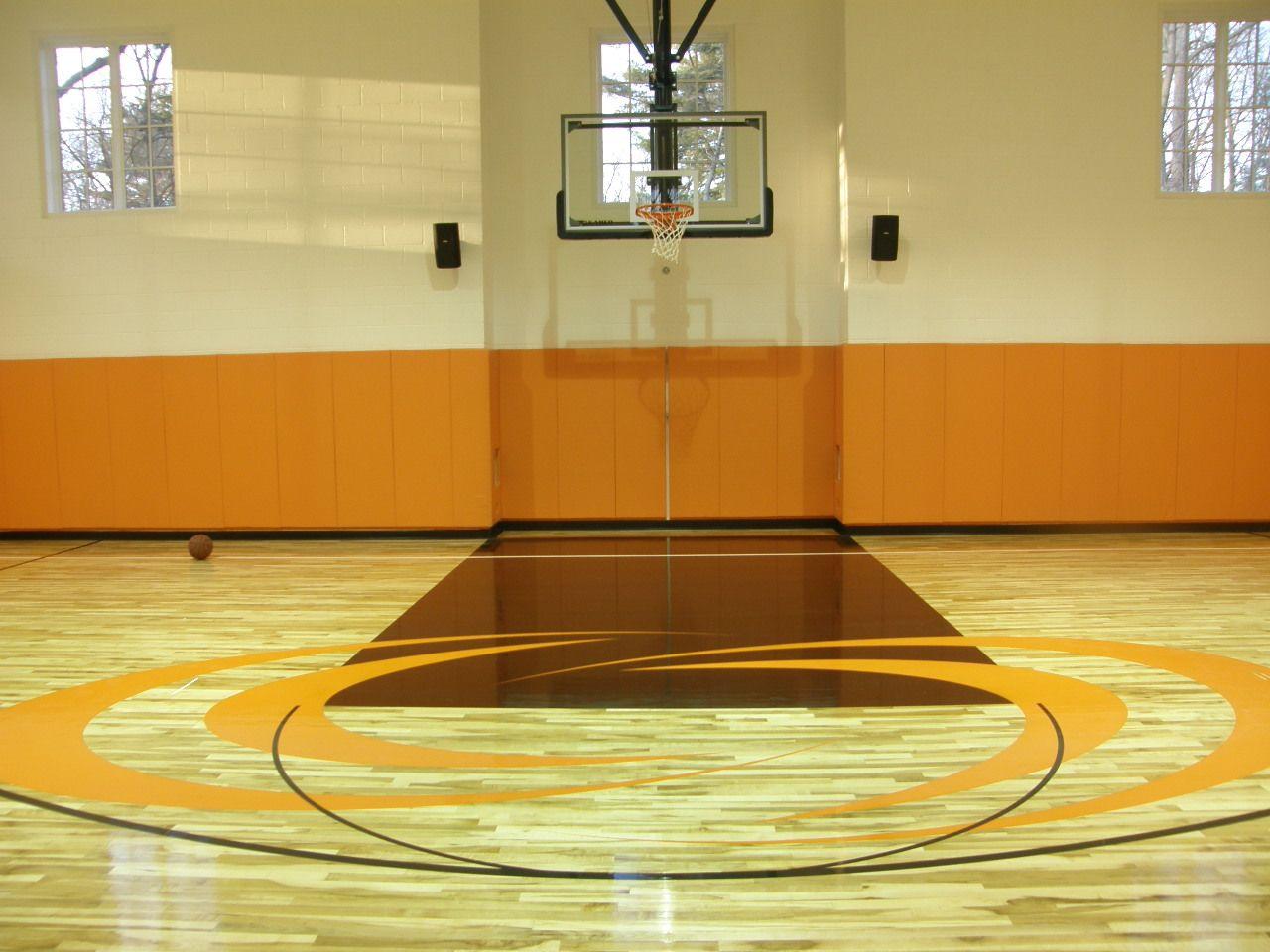 Orange Brown Basketball Court Basketball Court Layout Basketball Floor Outdoor Basketball Court