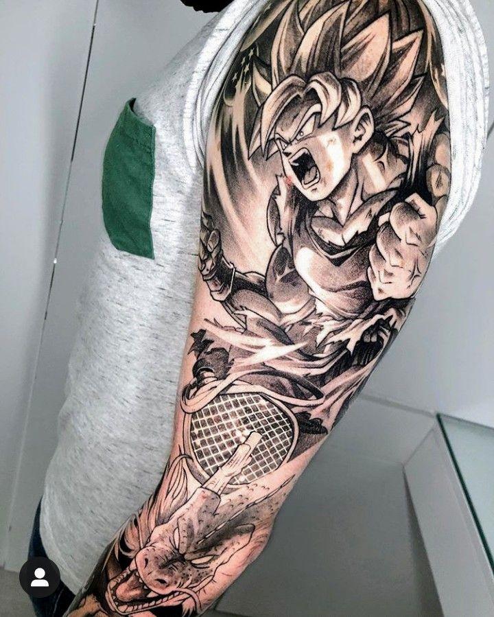 Dragon Ball Tattoo Dragon Ball Tattoo Dbz Tattoo Tattoos