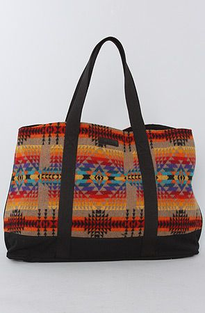 The Ultimate Tote Bag in Tan Pagosa Springs by Pendleton