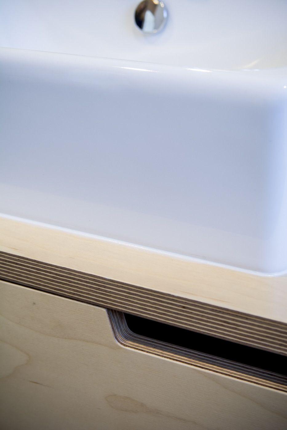 Bathroom Vanity Tops New Zealand 2 door birch plywood vanity | plywood, birch and nelson f.c.