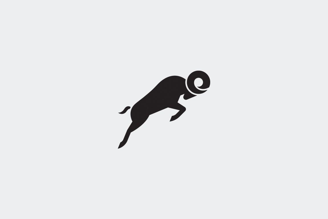 Swiss Ram Watches Goat logo, Animal logo, Graphic design