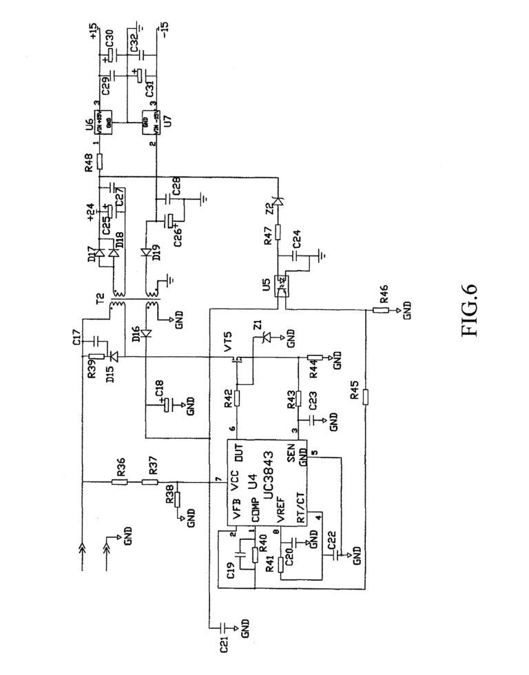 circuit diagram of welding machine