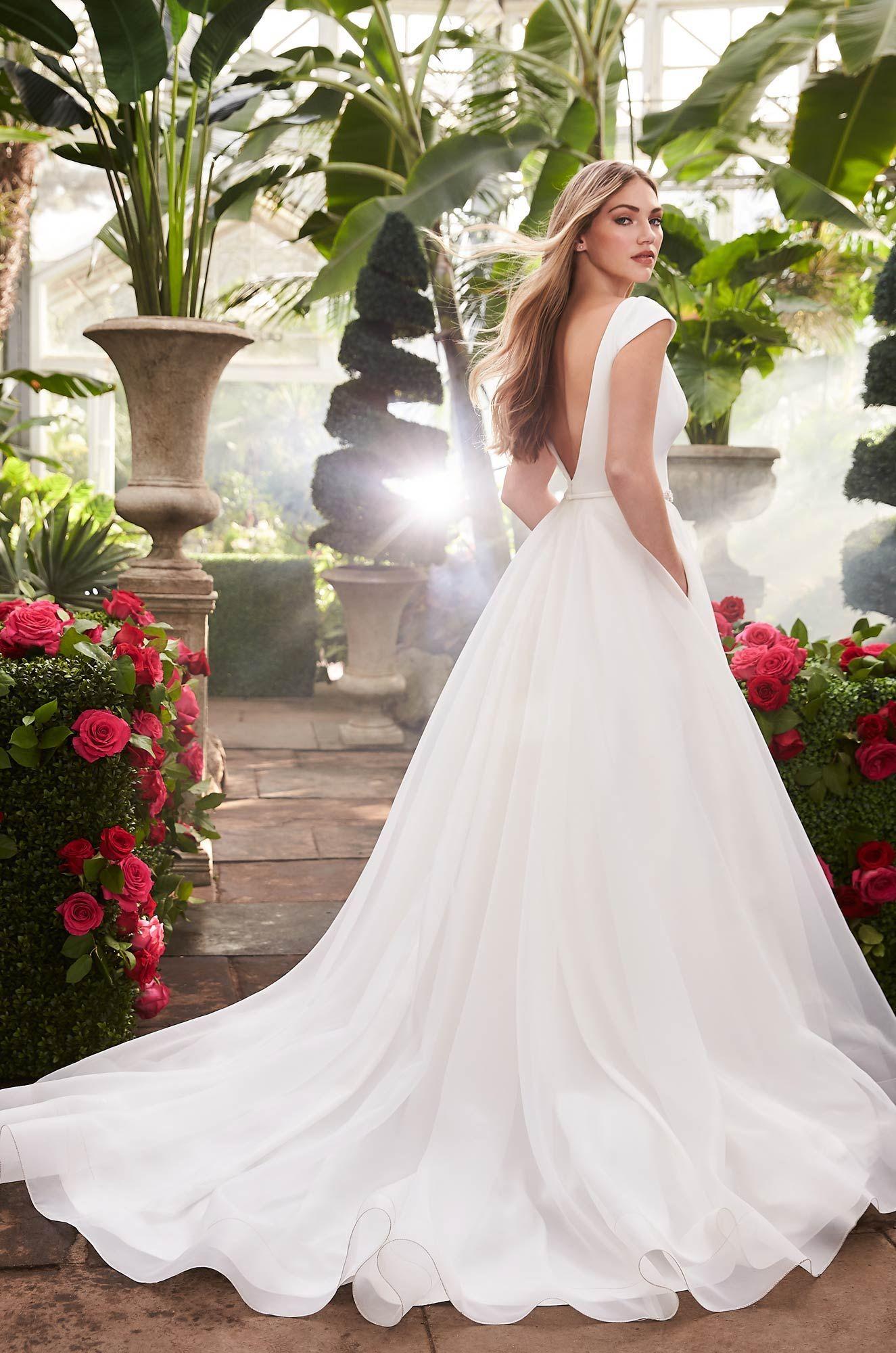 Breathtaking Cap Sleeve Wedding Dress Style 2253 Wedding