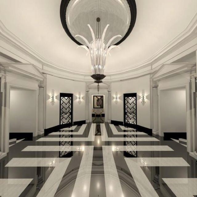 Marble Flooring Designs For Entryways