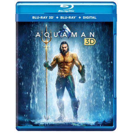 Aquaman (DC) (Blu-ray + Blu-ray + Digital Copy) - Walmart.com