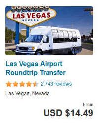 Las Vegas Airport Shuttle Directory Take A Service To And From Mccarran Also The Strip Downtown