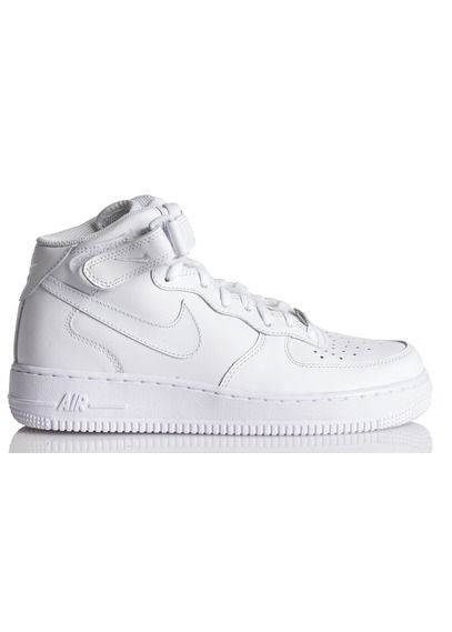 finest selection c9aaa 9b7dd E-shop Nike - Nike Air Force 1 Mid 07 Leather Blanc Nike pour femme