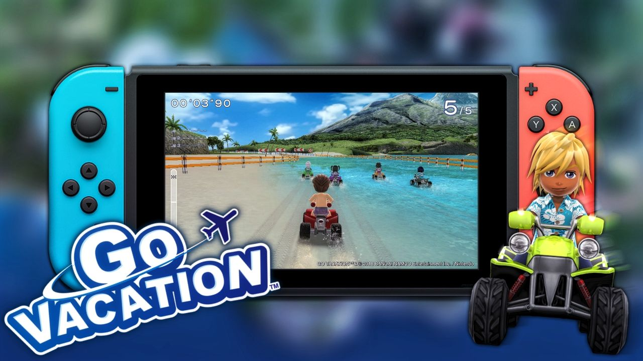 The Wii SleeperHit Go Vacation Returns on Nintendo Switch
