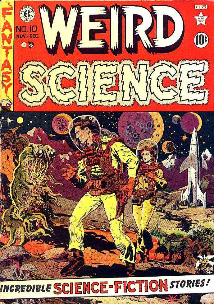 Image result for ec comics science fiction