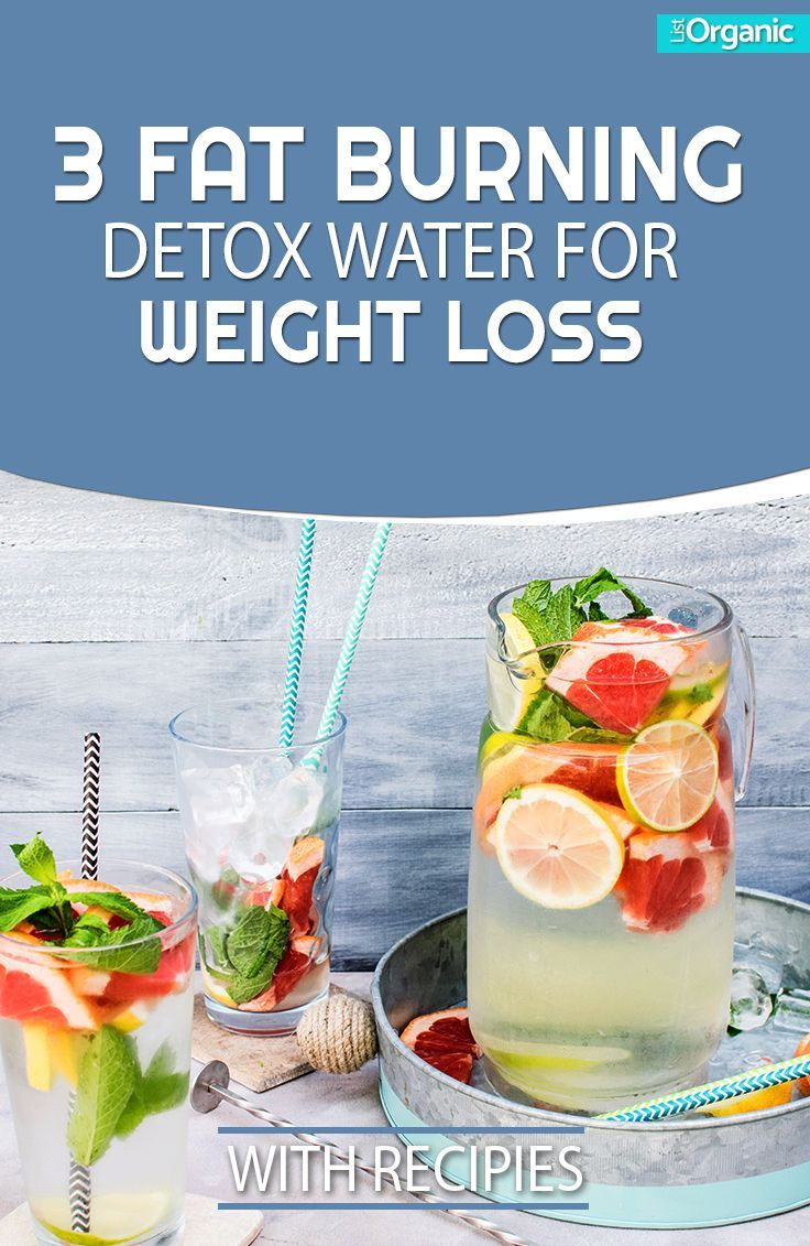 Fat Burning Detox Waters for Weight Loss people may know  Detox