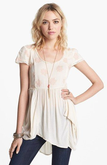 3417ca2e02d229 Free People  Shake Dandelion  Babydoll Top available at  Nordstrom ...