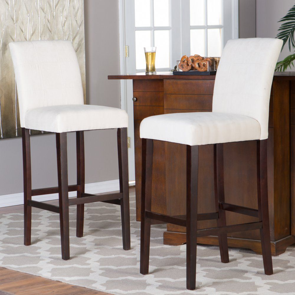 Palazzo 34 Inch Extra Tall Bar Stool Set Of 2 Just Right For