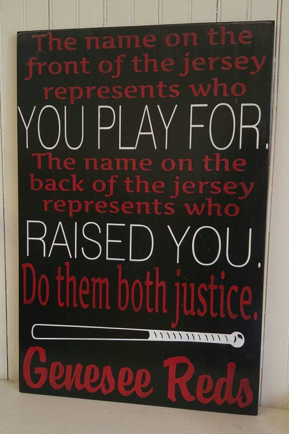 Personalized Dugout Sign Baseball Signs By